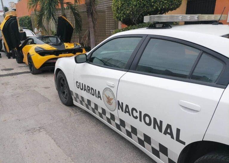 Lujoso McLaren reportado como robado en Edomex es hallado en Mérida