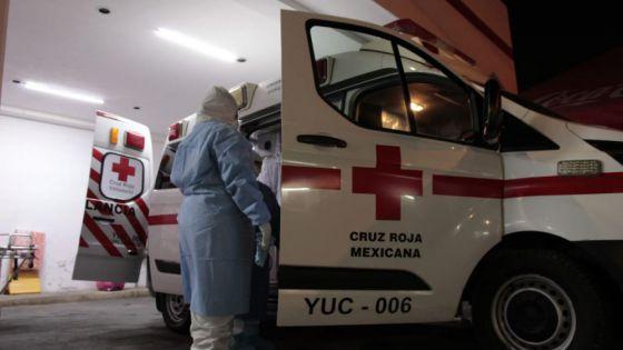 Mérida: Mecánico sufre lesión en el cráneo luego de caerle encima un camión