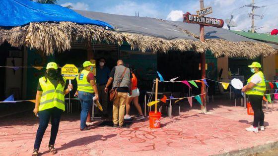 Refuerza gobierno de Puerto Morelos difusión de medidas preventivas ante la pandemia