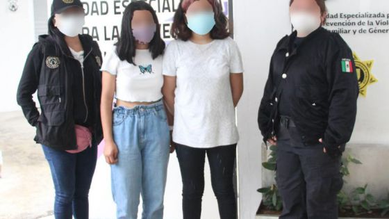Localizan a menores de edad que escaparon de sus casas en Mérida