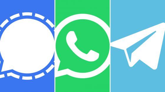 Por cambios en Whats App aumentan descargas de Signal y Telegram