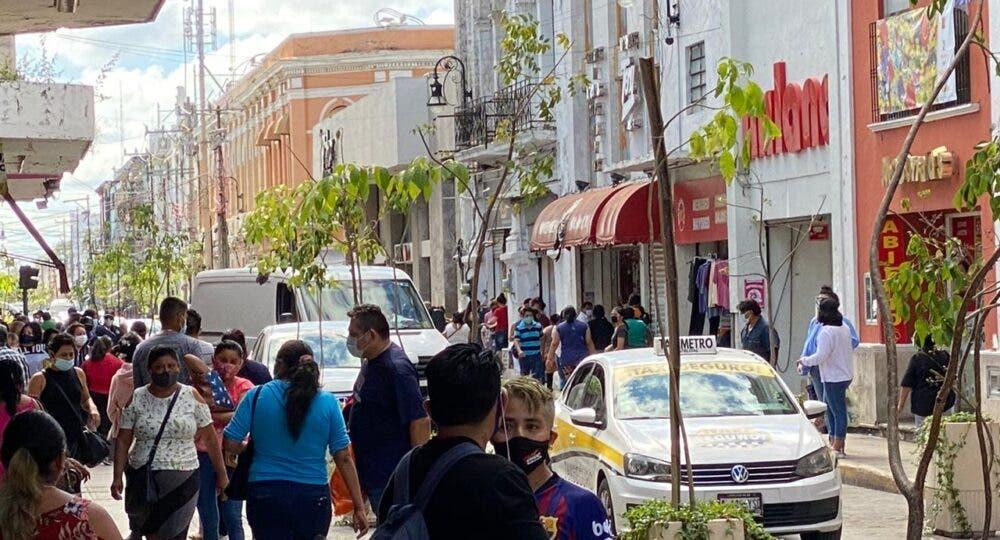 Refuerzan medidas preventivas contra el Covid-19 en comercios de Mérida