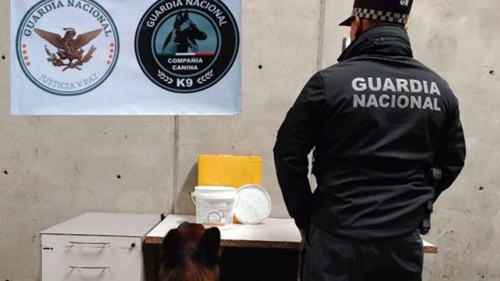 ¿Crema de coco? Decomisa Guardia Nacional metanfetamina