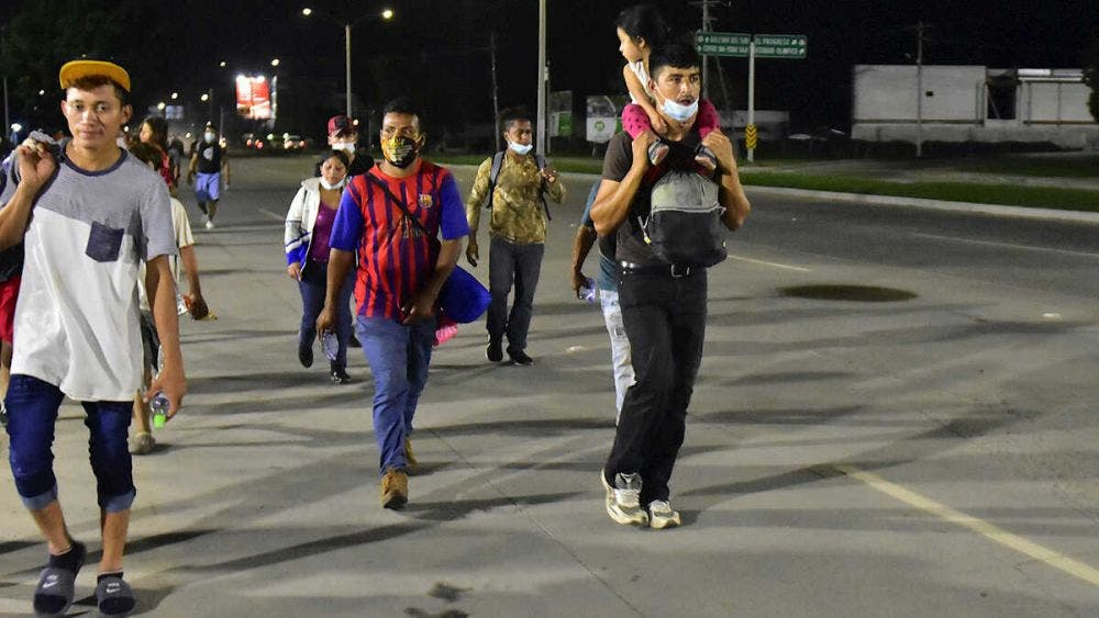 Gobierno Mexicano pide a Centroamérica frenar caravana migrante