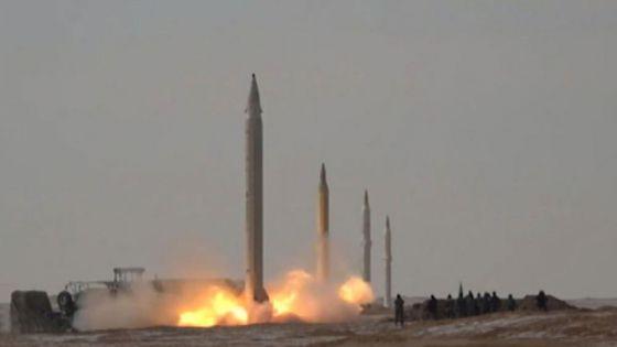 Lanza Irán misiles balísticos contra objetivos en el océano Índico