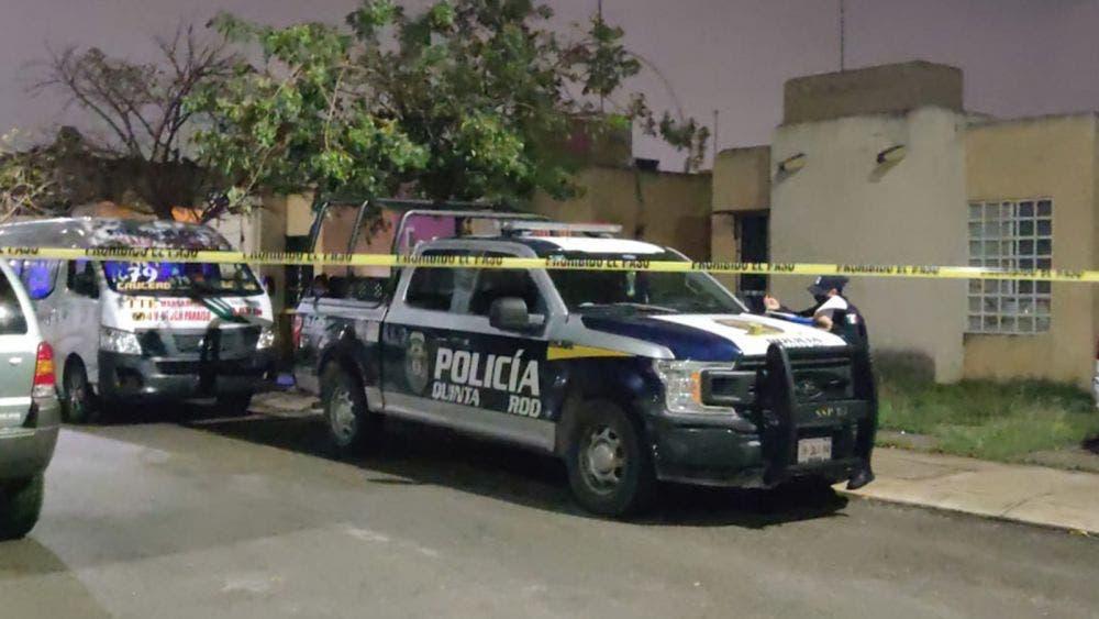 Hallan mujer embarazada muerta a cuchilladas en Cancún