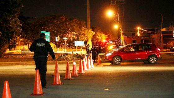 Van 60 multas a conductores que circularon después de las 23:30 en Yucatán