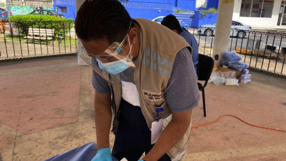 Responde población de la zona maya a pruebas rápidas Covid-19