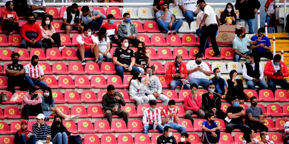 Necaxa vs San Luis ¿Regresa la afición a la Liga MX?