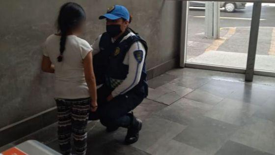 Menor se 'fuga' de su casa para encontrar a su papá