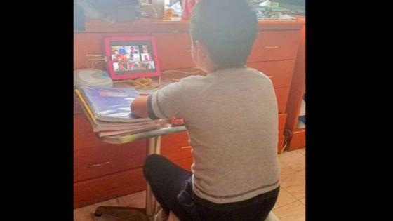 Menor de edad 'explota' y dice estar harto de las tareas