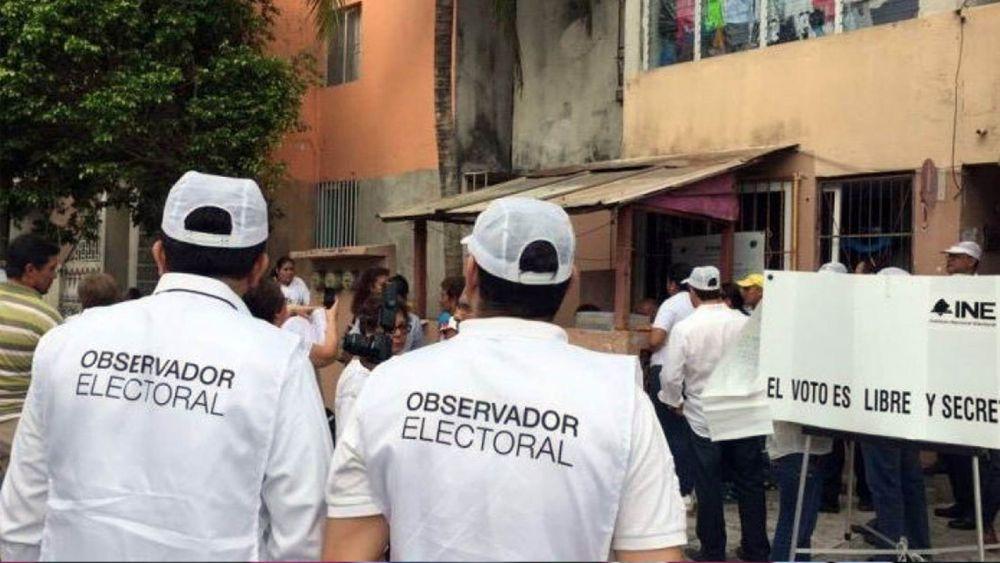 Poco interés en participar como observador electoral