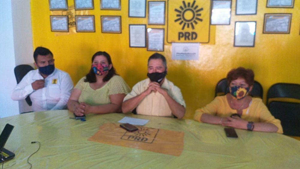 """El PRD no quiere """"migajas"""" en coalición con partidos"""