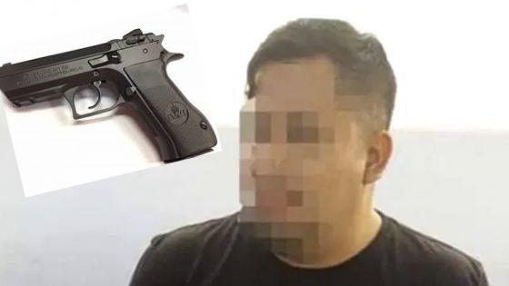 Insólito!, detienen a policía en Cancún por robo de arma