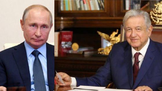Promete Putin a AMLO enviar 12 millones de vacunas Sputnik V
