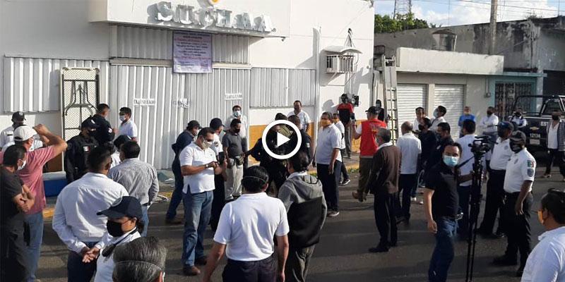 Video: Se encienden los ánimos por la silla de Suchaa en Chetumal.
