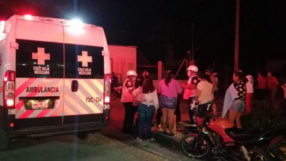 Joven atropella a una mujer en Tizimín; huye para guardar su moto
