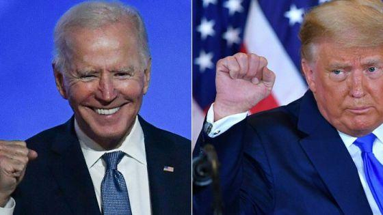 Donald Trump le deja una carta a Joe Biden