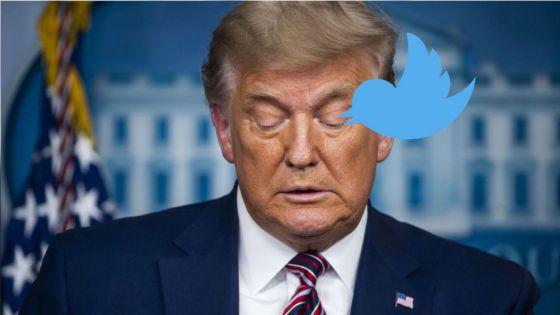 Adiós a twiter para Trump, le cancelan definitivamente su cuenta