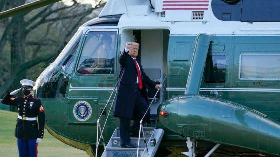 """Se fue Trump, pero amenaza regresar """"de algún modo"""""""