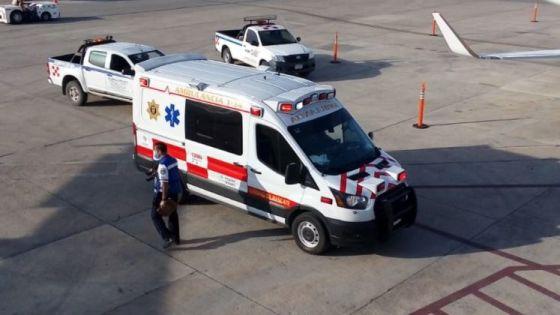 Turista causa movilización en Aeropuerto de Mérida tras convulsionar