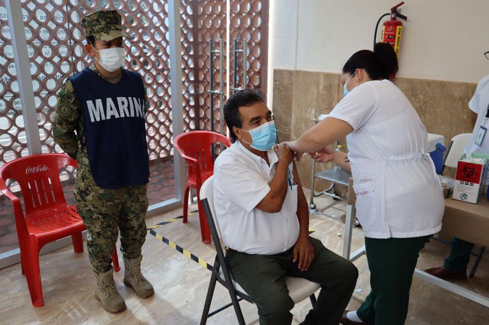 Cubre Quintana Roo casi 100 % de vacunación contra Covid-19