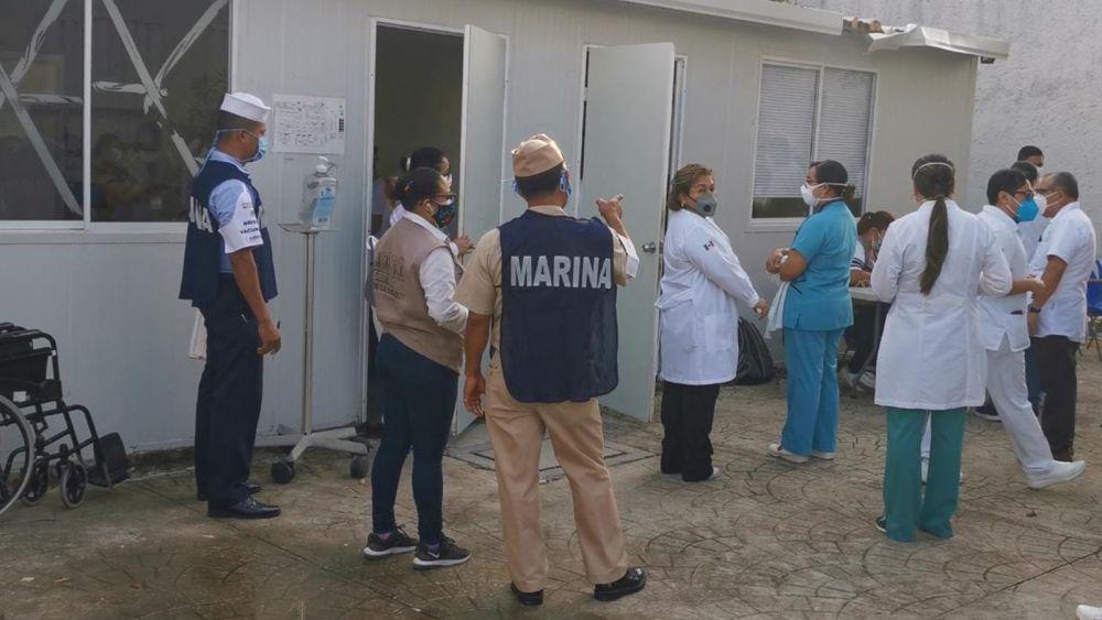 Inició aplicación de vacunas contra COVID 19 en Cancún