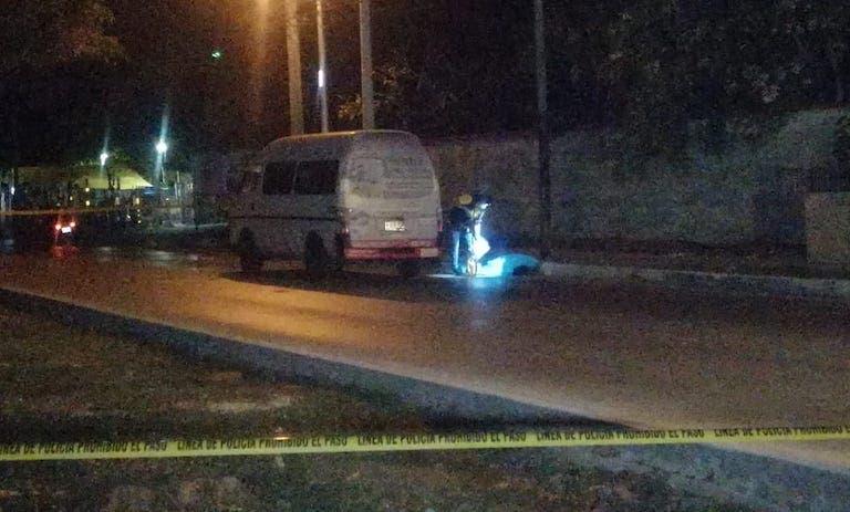 Muere atropellado un señor de la tercera edad en avenida del norte de Mérida