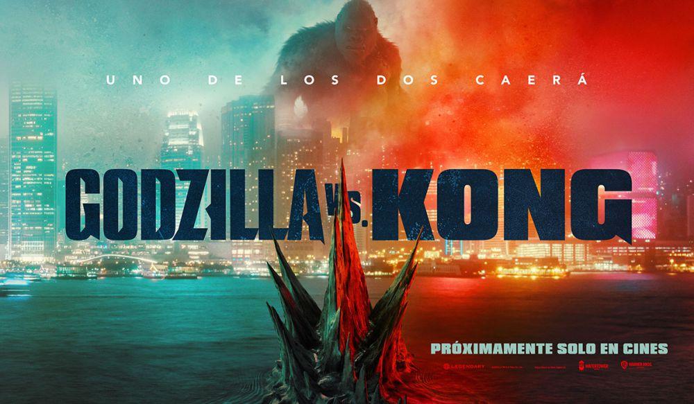 Warner Bros anuncia el póster oficial de 'Godzilla vs Kong'