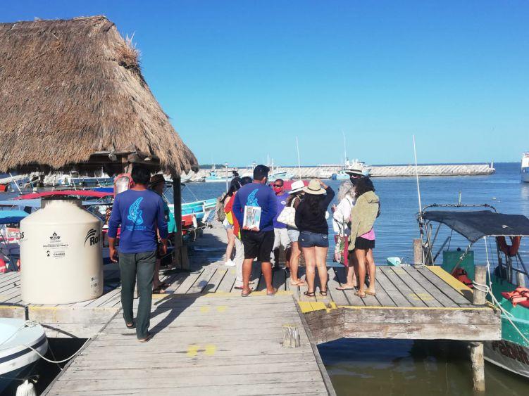 Repunta en Año Nuevo la actividad turística en Holbox; la actividad se elevó hasta un 60%, respetando todos los protocolos contra el Covid-19.