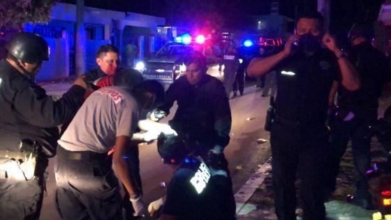 Un policía lesionado en Chetumal por ataque de pandilla.