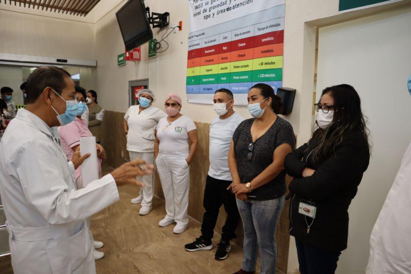 Inicia IMSS Quintana Roo la vacunación Covid-19 a personal de salud.