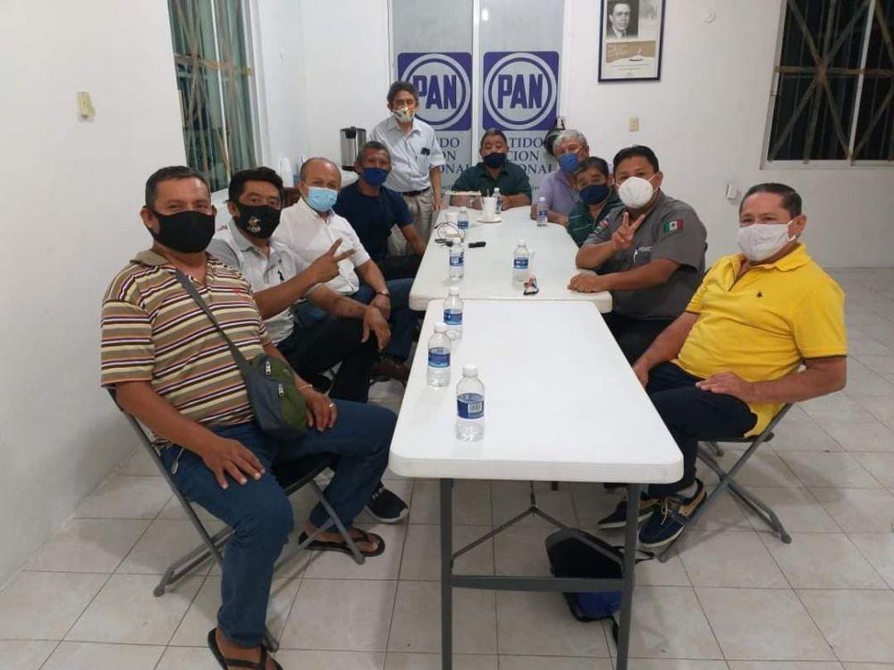 Panistas de Cozumel inconformes con alianza con PRI y PRD.