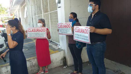 Por faccioso e imparcial, piden destituir al ombudsperson de Quintana Roo.