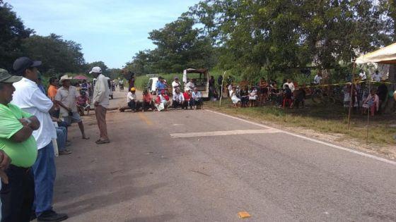 Ejidatarios de Tihosuco endurecerán acciones ante indiferencia de la SCT.