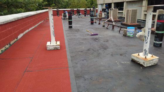 Dan mantenimiento al Campus Chetumal de la Uqroo.