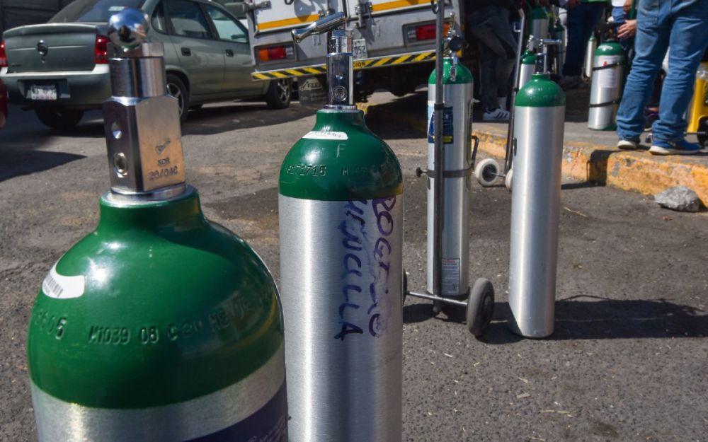 Costos exorbitantes y escasez de tanques de oxígeno en Cancún
