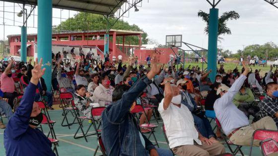 Realizan trabajos en Santa Julia donde se consolidará el parque eólico.
