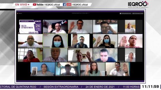 Ieqroo da luz verde a coalición de partidos en Quintana Roo.