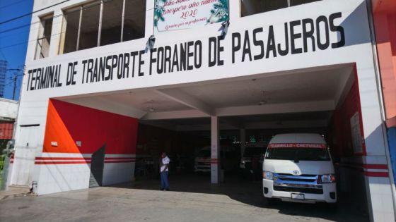 En Chetumal incumplen protocolos contra Covid en terminal foránea.