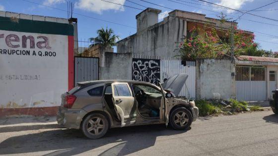 Video: Confusión por supuesto encajuelado en auto abandonado en Cancún.