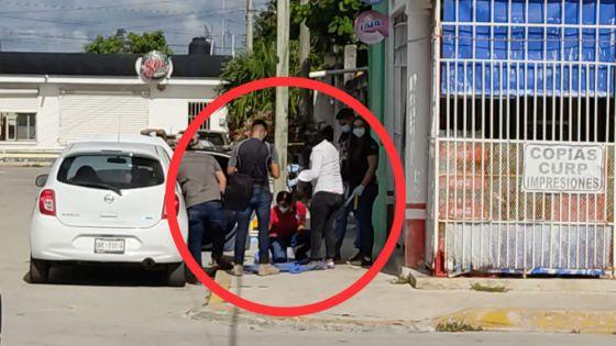 Cancún: Aseguran vehículo usado por sicarios que emboscaron a patrulleros.
