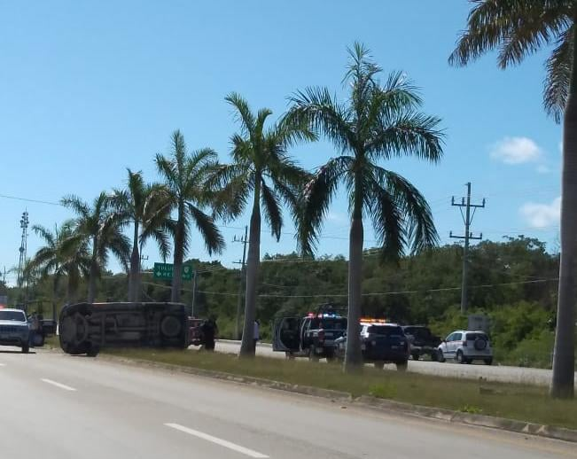 Sufre accidente Victor Mas Tah, Alcalde de Tulum, Quintana Roo