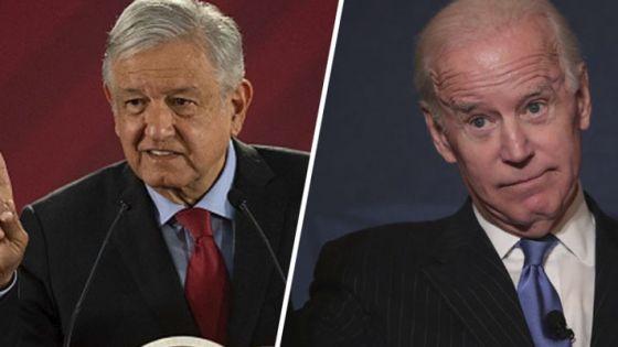 López Obrador y Biden sostendrán llamada telefónica