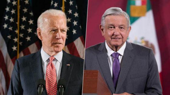 AMLO y Biden hablan sobre migración y Covid-19