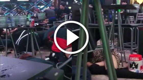 Disparos causan terror a jóvenes en un antro de Culiacán (Video)