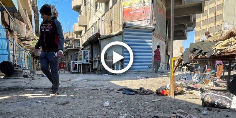 Video: Dejan 32 muertos ataques suicidas con bombas en Irak.