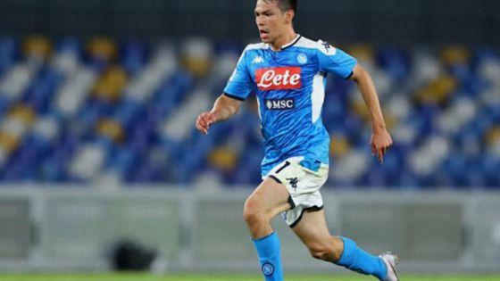Chucky Lozano hace el gol más rápido en la historia del Napoli (video)