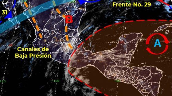 Pronóstico del clima para hoy domingo en Quintana Roo.