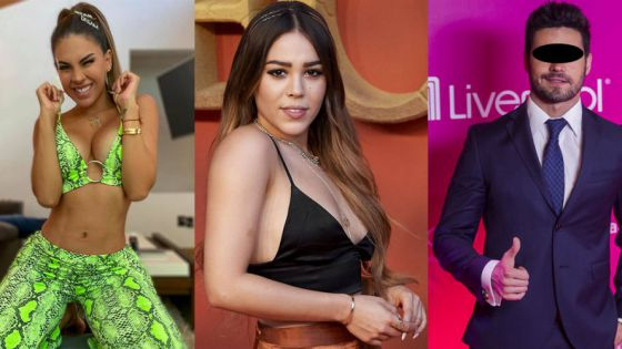 "Involucran a Danna Paola en pleito entre Tefi Valenzuela y Eleazar ""N"""
